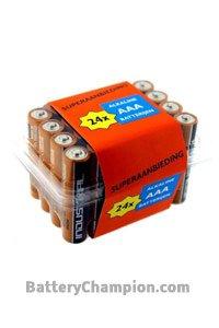 Duracell 24x AAA batterij