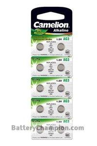 Camelion 10x LR41 Coin cell (24 mAh)