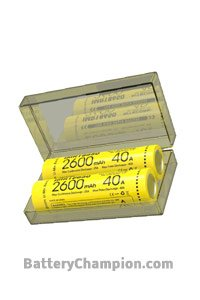 Nitecore BO-NITE-18650-2600 Batterie (2600 mAh)