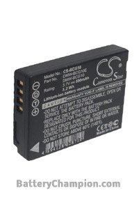 Battery for Panasonic Lumix DMC-TZ30