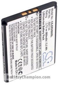 BTC-ERV800SL Akku (900 mAh, Schwarz)