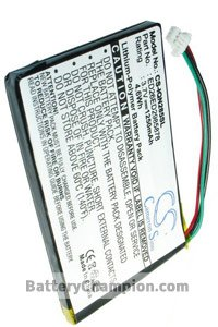 Battery for Garmin Nuvi 3590LMT