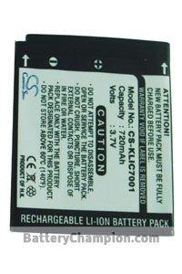 BTC-KLIC7001 batería (720 mAh)