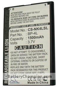 BTC-NK4LSL batterie (1500 mAh)