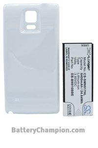 BTC-SMN917HL batteri (6400 mAh, Hvit)