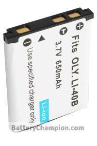BTE-LI40B batterie (650 mAh)