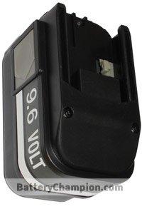 BTE-MIL-9.6_B_2000_NI-CD batterie (2000 mAh)