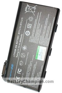 BTE-MSI-A5000_H batería (6600 mAh)