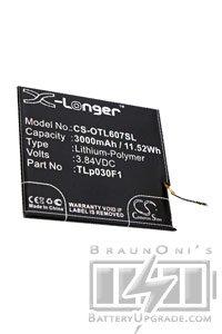 BTC-OTL607SL battery (3000 mAh, Black)