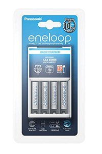Eneloop Alimentatore, Include 4x AAA batteria (750 mAh)