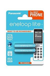 Eneloop Lite 2x AAA batteria (550 mAh)