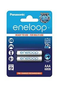Eneloop 2x AAA batteria (750 mAh)