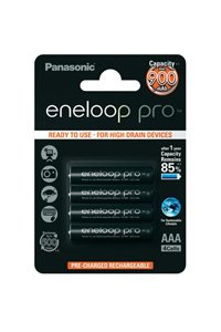 Eneloop Pro 4x AAA batteria (930 mAh)