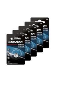 Camelion 5x CR1220 A bottone (40 mAh)