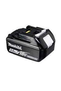 Makita Makita LXT401 batteri (5000 mAh, Sort, Originalt)