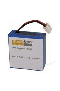 Ratiotec Ratiotec Soldi Smart Pro batteri (600 mAh, Originalt)