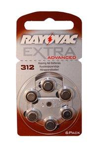 Rayovac 1 x PR41 Knopfzelle (Braun)