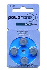 Powerone 4x PR44 Knopfzelle (Blau, 70 mAh)