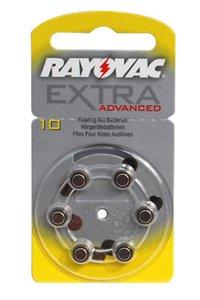 Rayovac 6x PR536 Knopfzelle (Gelb)