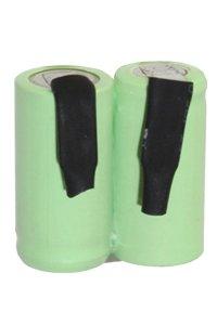 2/3 AA batteria in serie, con piazzole di saldatura (600 mAh, Ricaricabile)