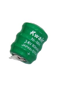 5x 3/V60R Batterie (80 mAh)