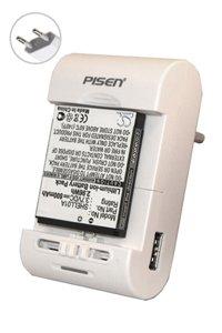 Pisen Alimentatore / caricabatteria universale per batterie per palmari e smartphone