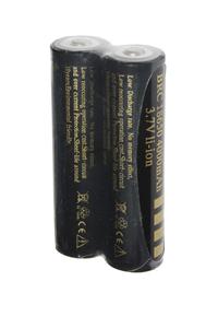 UltraFire 2x 18650 batteria (4000 mAh, Ricaricabile)