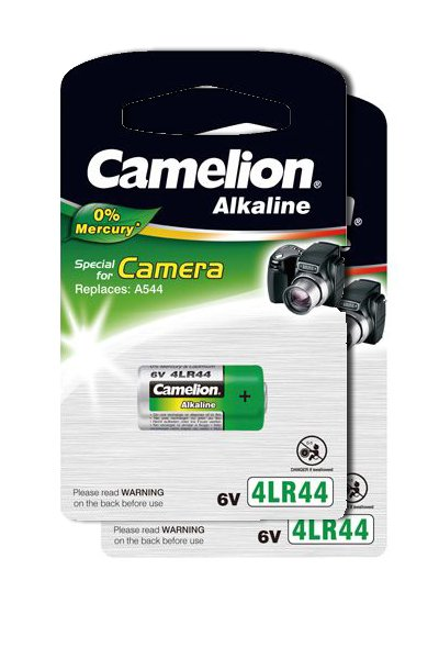 Camelion 2x 4LR44 battery (165 mAh)