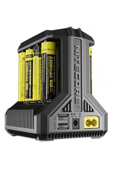 Nitecore 8x Lithium Cell AC-adapter / laddare