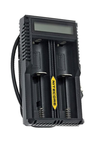 Nitecore 2x Lithium Cell Adaptador AC / carregador