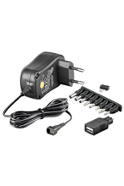 BO-ADPT-WE-53996 12W AC adapter / lader (3 - 12V, 1A)