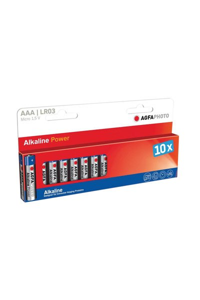 Agfaphoto 10x AAA battery