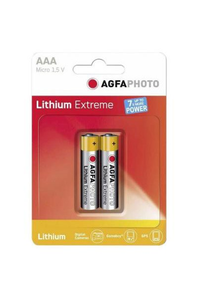Agfaphoto 4x AAA Batterie