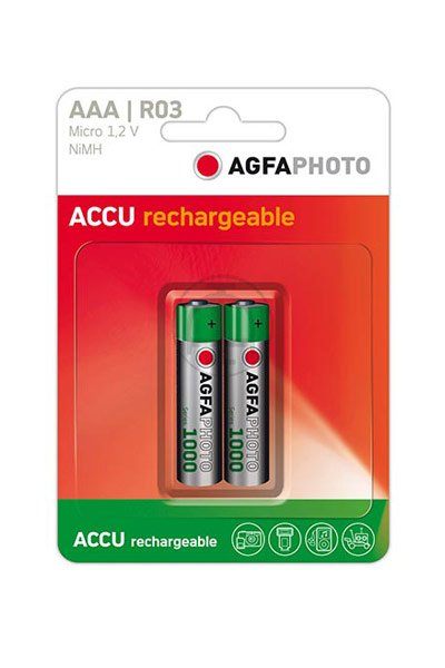 Agfaphoto 2x aaa batteri