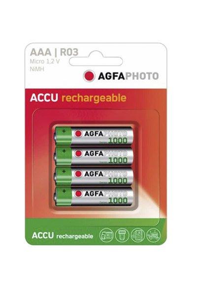 Agfaphoto 4x aaa battery