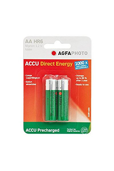 Agfaphoto 2x aa battery