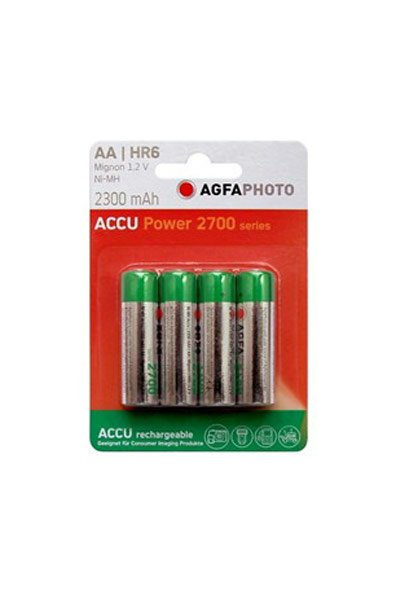 Agfaphoto 4x aa battery