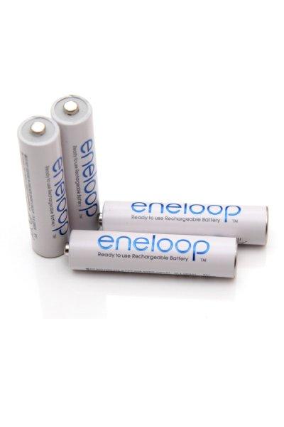 Eneloop 4x AAA batteri