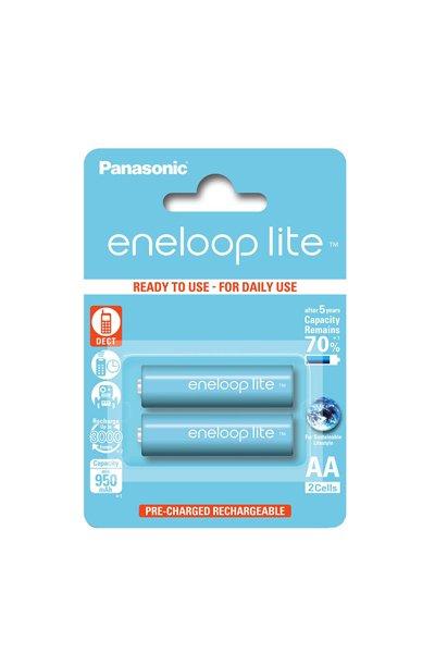 Eneloop Lite 2x AA batteri (950 mAh)