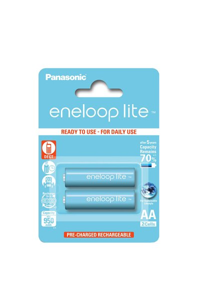 Eneloop Lite 2x AA battery (950 mAh)