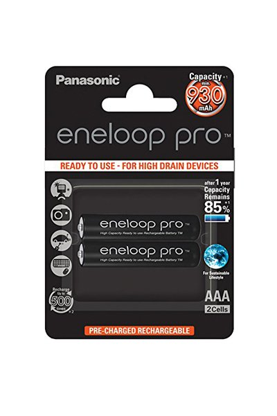 Eneloop 2x AAA paristo (930 mAh)