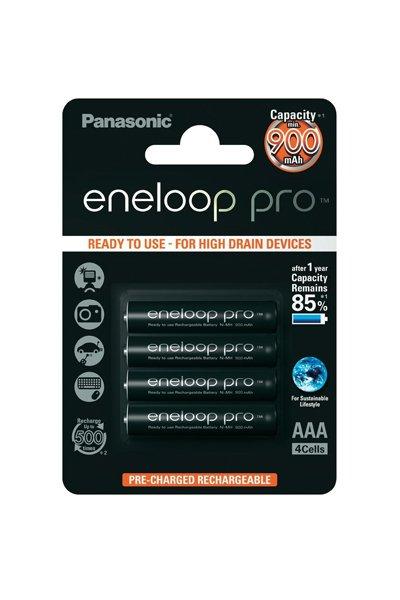 Eneloop Pro 4x AAA battery (930 mAh)