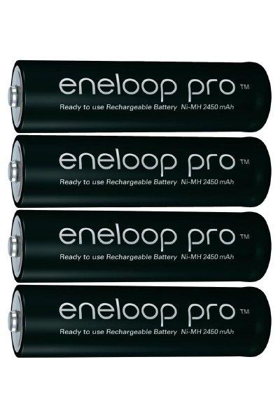 Eneloop pro 4x AA batteri (2450 mAh)