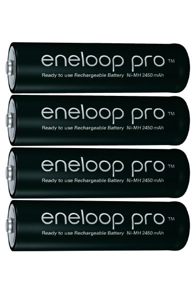 Eneloop pro 4x AA battery (2450 mAh)
