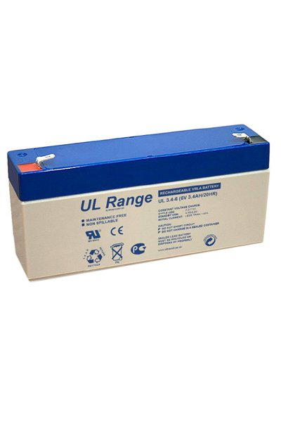 UltraCell BO-BS-UCLA59302 batería (3400 mAh)