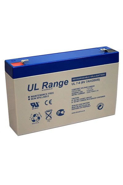 UltraCell BO-BS-UCLA59304 batteri (7000 mAh, Vit)