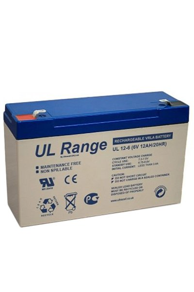 UltraCell BO-BS-UCLA59305 batterie (12000 mAh)
