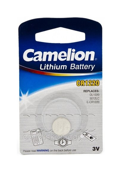 Camelion 1x CR1220 Coin cell (40 mAh)