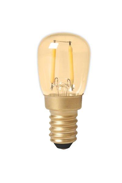 Calex E14 Lâmpadas LED 1,5W (15W) (Pêra, Transparente)