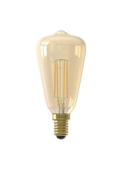 Calex E14 Lâmpadas LED 4W (30W) (Pêra, Transparente, Regulável)